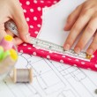 Sewing kit, different subjects — Stock Photo #55469375