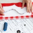 Sewing kit, different subjects — Stock Photo #55469397
