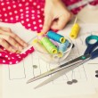 Sewing kit, different subjects — Stock Photo #55469401