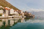 Perast city, Montenegro — Foto Stock