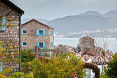 Town in Montenegro, near the sea — Stock Photo
