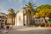 The historic center of Herceg Novi, Montenegro — Stock Photo