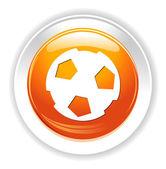 Soccer ball icon — Stock Vector