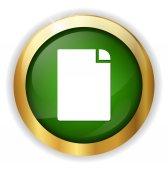 Document web Icon — Stockvektor