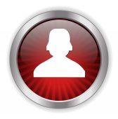 User web icon — Stock Vector