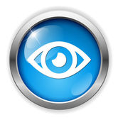 значок глаза web — Cтоковый вектор