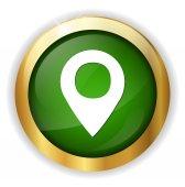Map pointer icon — Stock Vector