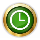 Time web icon — Stock Vector
