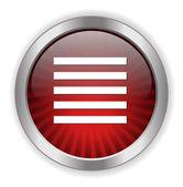 Text web icon — Stock Vector