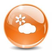 Botão do ícone de tempo — Vetor de Stock