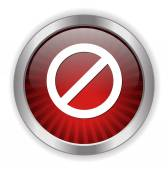 Not Allowed Sign icon — Stock Vector