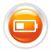 Battery charging icon — Stock Vector