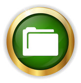 Folder web icon — Stock Vector