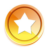 Star spindelväv ikonen — Stockvektor