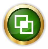 Picture web icon — Stock Vector
