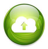 Upload web icon — Stock Vector