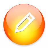 Penna penna ikon — Stockvektor
