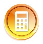 Calculator web icon — Stock Vector