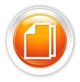 Document  web Icon — Stock Vector