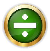Dividing web icon — Stock Vector