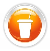 Paper cup icon — Stock Vector