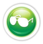 Glasses web icon — Stock Vector
