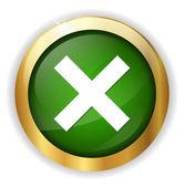 Delete remove icon — Stock Vector