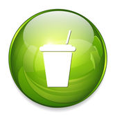 Paper cup icon — Vecteur