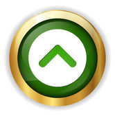 Arrow web icon — Stock Vector