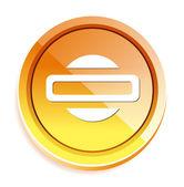 電源プラグ ボタン — ストックベクタ