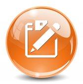Document web icon — Stockvector