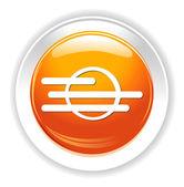 Icono web del tiempo — Vector de stock