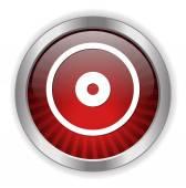 Compact disk icon — Stock Vector