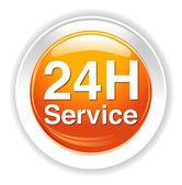 Icona di servizio e supporto — Vettoriale Stock
