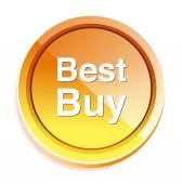 最高の購入ボタン — ストックベクタ