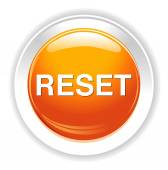 Reset button icon — Stock Vector