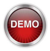 Demo web icon — Stock Vector
