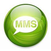 Mms web icon — Stock Vector