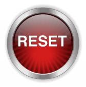 Reset button icon — Stock Vector