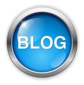 Blog web icon — Stock Vector