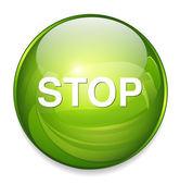 Web アイコンを停止します。 — ストックベクタ