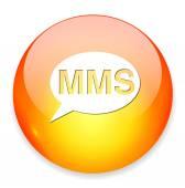Mms web icon — Stok Vektör