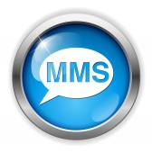 Mms web icon — Stock Vector
