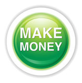 Make money icon — Stock Vector