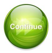 Continue button icon — Stock Vector