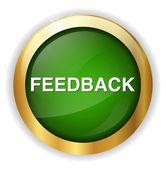 Feedback button icon — Stock Vector