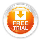 Free trial icon — Stock Vector