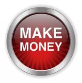 Faire argent icône — Vecteur