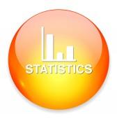 Graph web icon — Stock Vector