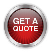Get quote Button — Stock Vector
